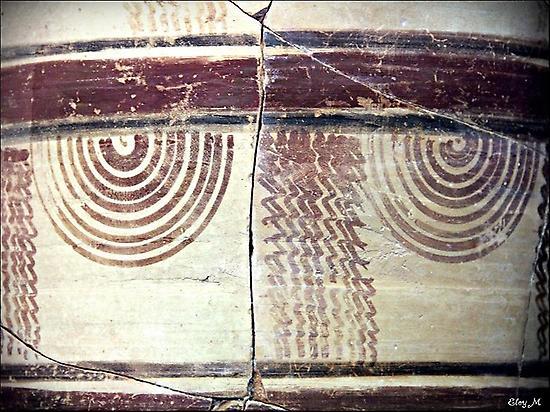 Detail of Iberian Ceramics