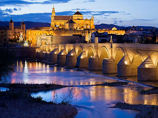 Córdoba, Roman bridge and Mosque