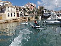 Excursiones en moto de agua Torrevieja