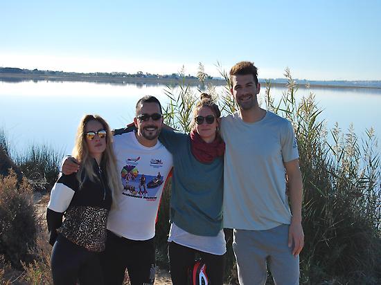 Visite des salines de Torrevieja