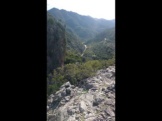 Las Buitreras Canyon