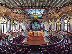 Visit to the Palau de la Música