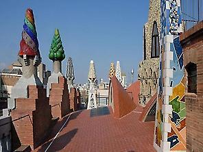 Palau Güell terrasse