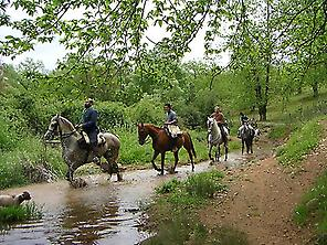 Routes in horse en Arroyo Bejarano