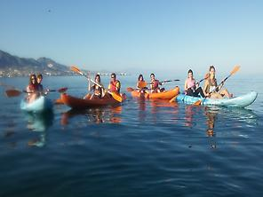Excursion de kayaks