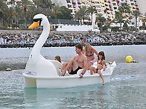 Pedal Boat at Anfi Beach - Gran Canaria