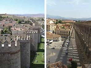 Ávila and Segovia