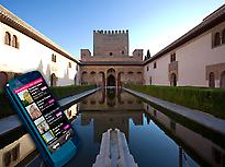 The Alhambra by audio guide