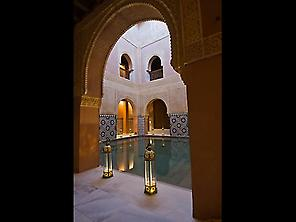 Warm room at Hammam Malaga