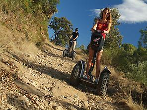 Delve in the nature riding our SEGWAYS