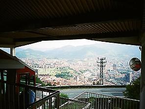 Funicular en el Monte Artxanda