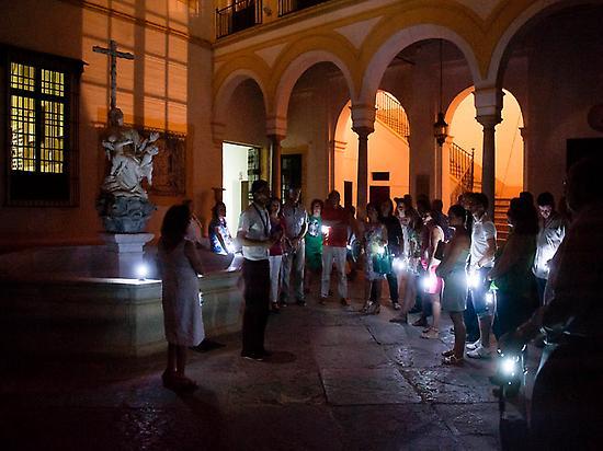 Night visit to the XVII century hospital