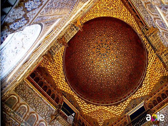 Salón de Embajadores, Reales Alcázares.
