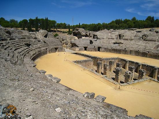 The Italica´s amphitheater