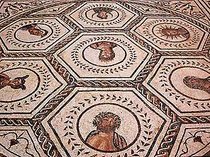 Roman mosaic.