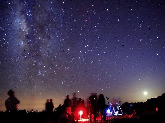 Astro Travels stargazing.