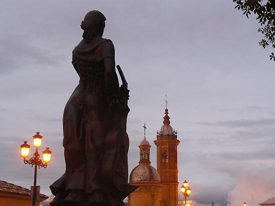 Triana y Capilla del Carmen