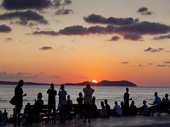The best Sunset in the Mediterranean