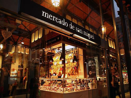 Best-known San Miguel Market in Madrid