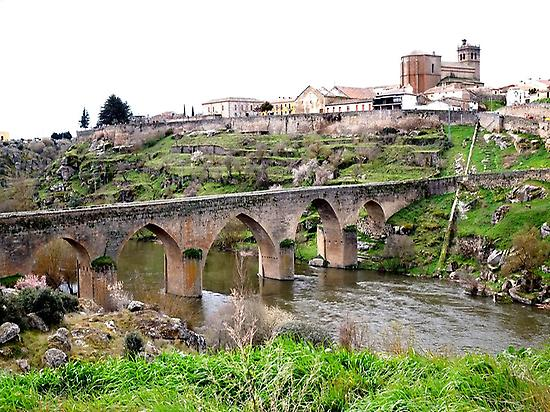 Mocho Bridge in Ledesma