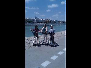 Cyclotour Triana by The River in segway