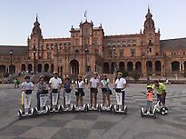 Cyclotour romantic Seville in segway