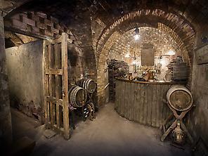 El Romellón: Underground cellar XIVth