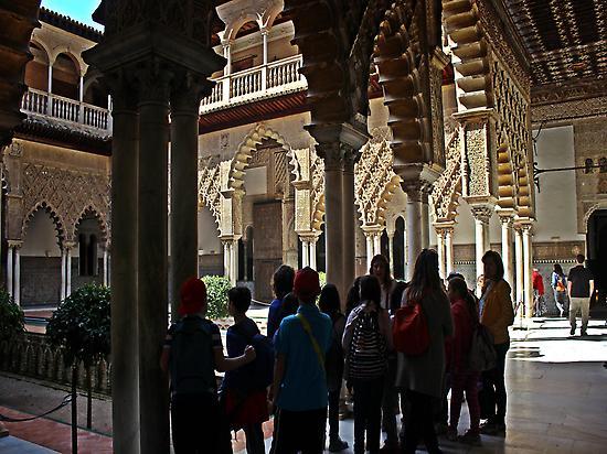 Reales Alcázares. of Seville.