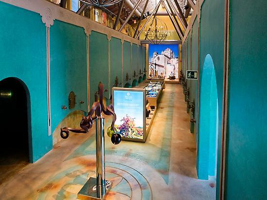 Inside the museum. Low floor
