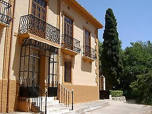 Front of the house ( Casa Don Angel)