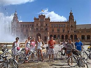 Plaza de España See by Bike