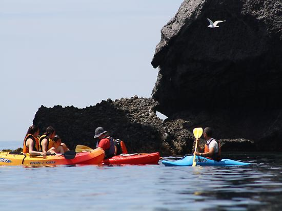 Kayak route