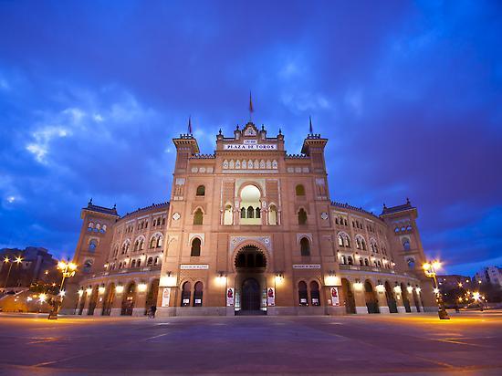 Vue des arènes Monumental de Las Ventas