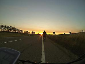 Cycling in the Meseta