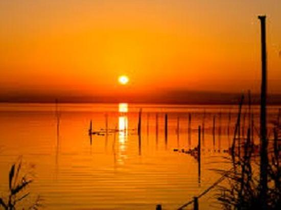 Sunset on Albufera