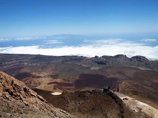 Teide peak.