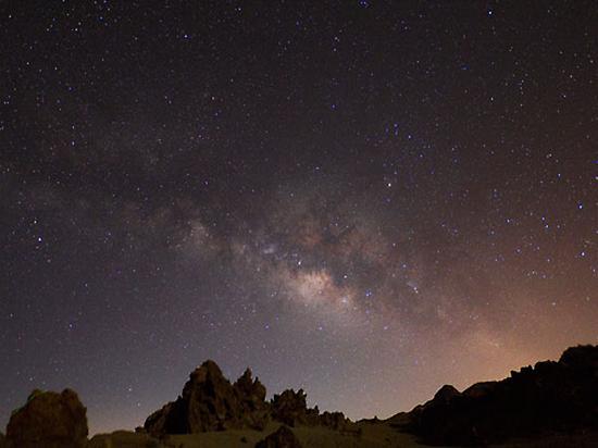 Firmamento en el Teide.