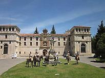 Visit in Monastery