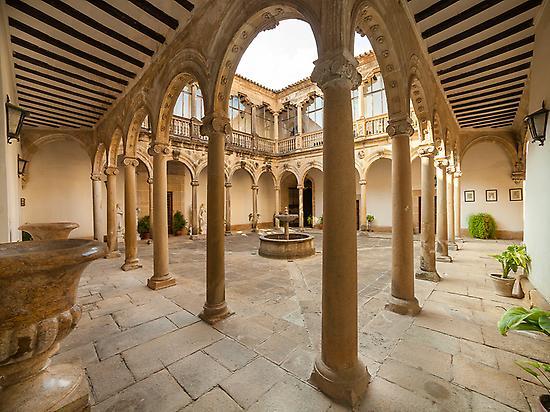 The Main Patio, Castle of Canena