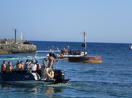 arriving islas hormigas