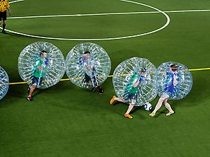 Match of Bubblesoccer.