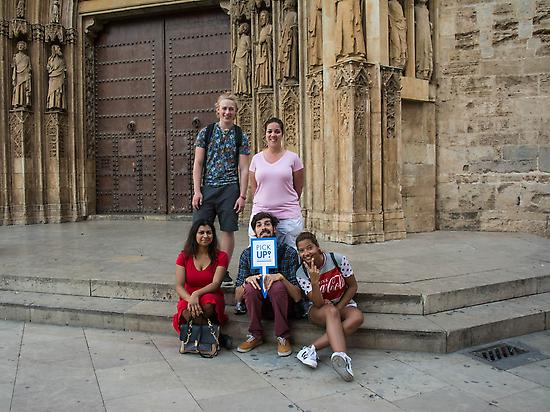 Walking tour in the centre of Valencia
