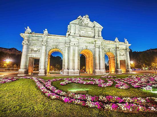 Madrid Sightseeing Night Tour