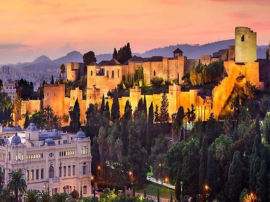 Visita guiada por Málaga al Anochecer