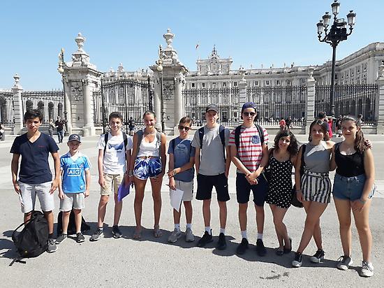 Gymkana in Spanish in Madrid