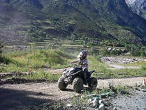 Ride a quad bike