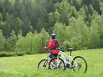 Mountain bike route