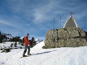 Raquetas de nieve Candanchú