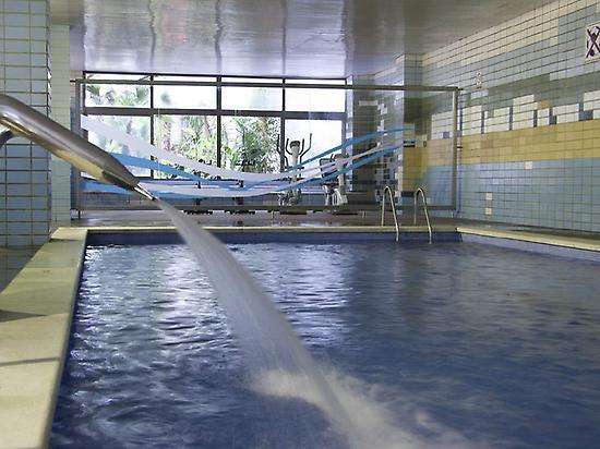 Beheizter Innen-Pool Hotel Gran Garbi