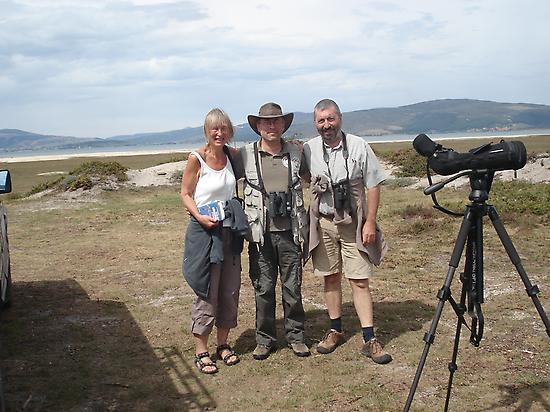 Birding. Waterfowl Reservoir Ebro